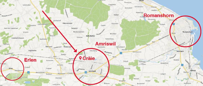 Cräie Amriswil 4 EFH Minerige Neubauten